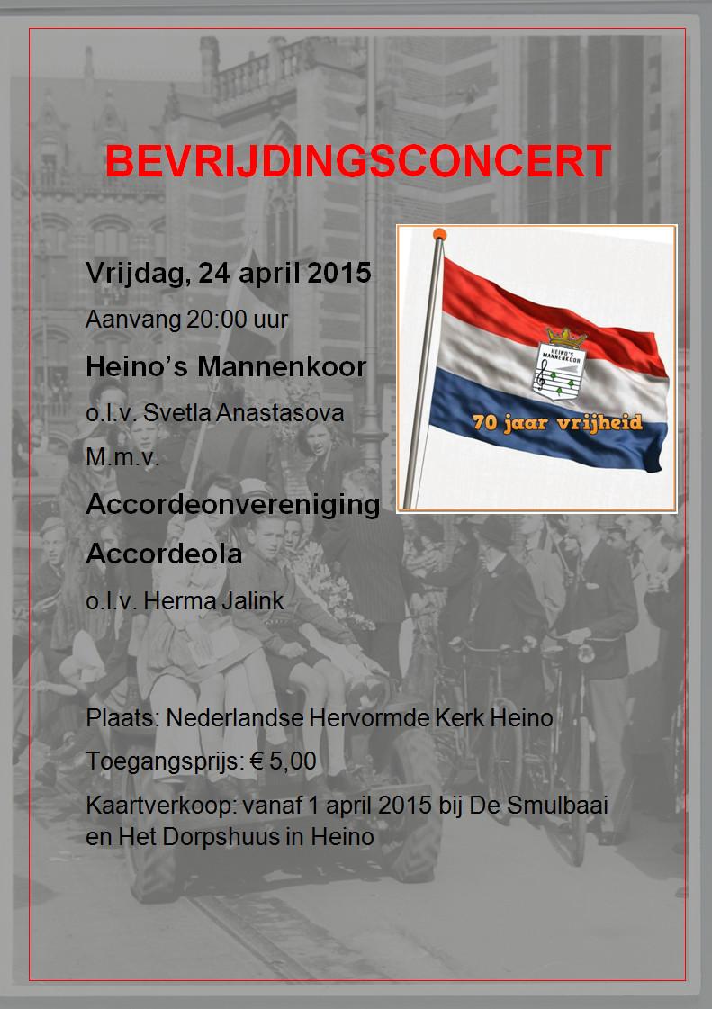 Bevrijdingsconcert 24-4-2015